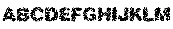 Spastic BRK Font UPPERCASE