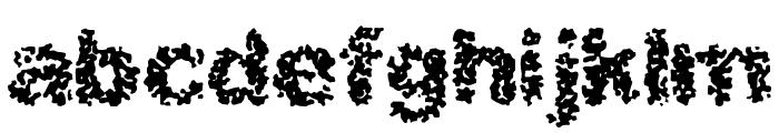 Spastic BRK Font LOWERCASE