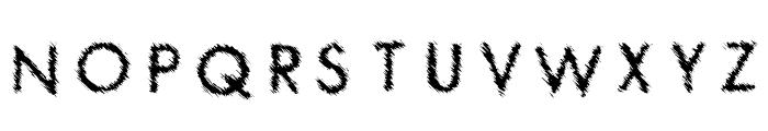 Spat Crumb Font UPPERCASE