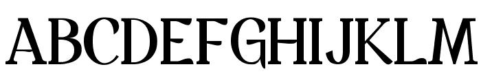 Spatha Serif Font UPPERCASE