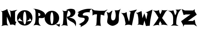 Spawned Font UPPERCASE