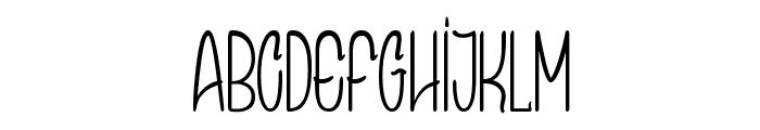 Speak Easy Font UPPERCASE