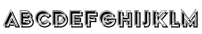 Speaker Regular Font LOWERCASE