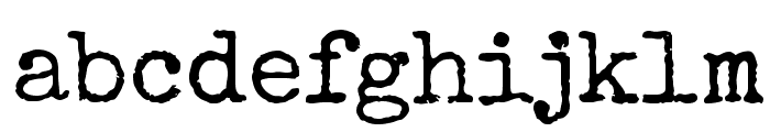 Special Elite Font LOWERCASE