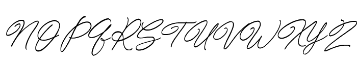 Special Touch Font UPPERCASE
