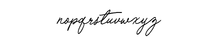 Special Touch Font LOWERCASE