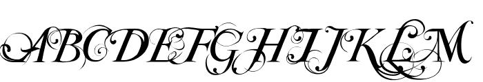 Special TypeRegular Font UPPERCASE