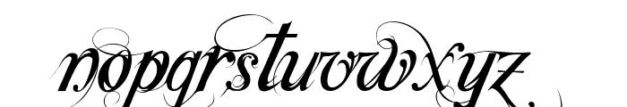 Special TypeRegular Font LOWERCASE