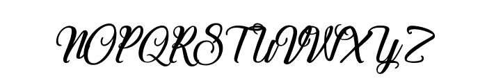 Special Valentine Font UPPERCASE