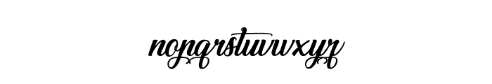 Special Valentine Font LOWERCASE