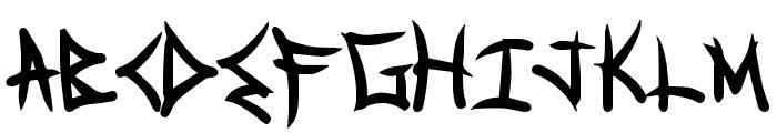 SpecialDelivery Font UPPERCASE