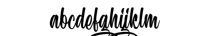 Speciality of Rodrigues Font LOWERCASE