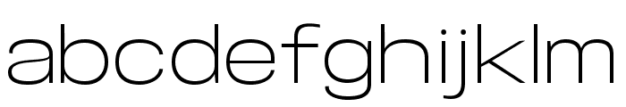 Specify PERSONAL Expanded Light Font LOWERCASE