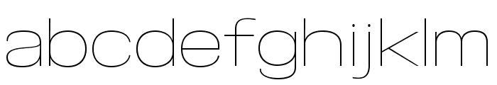 Specify PERSONAL Expanded Thin Font LOWERCASE