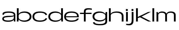 Specify PERSONAL Extraexpanded Medium Font LOWERCASE