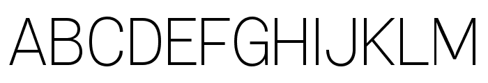 Specify PERSONAL Normal Light Font UPPERCASE