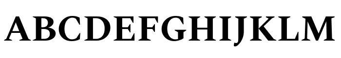 Spectral Bold Font UPPERCASE