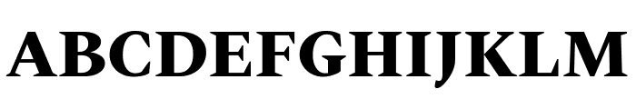 Spectral ExtraBold Font UPPERCASE
