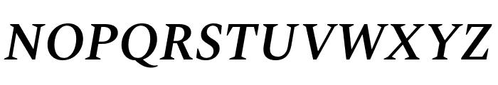 Spectral SemiBold Italic Font UPPERCASE