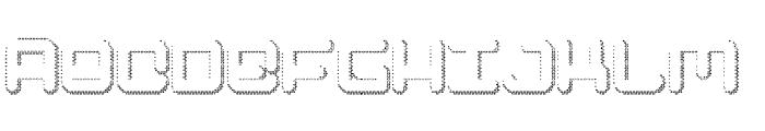 Spectro Font UPPERCASE