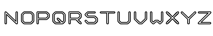 Speculum Outline Font UPPERCASE