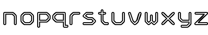 Speculum Outline Font LOWERCASE