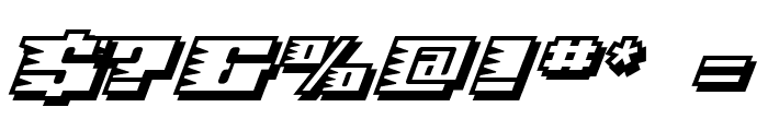 Speed Solid Font OTHER CHARS