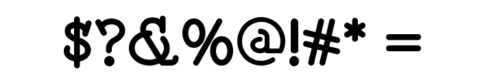 Speedball No 2 Bold NF Font OTHER CHARS