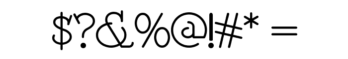 Speedball No 2 NF Font OTHER CHARS