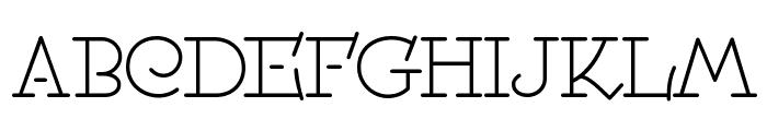 Speedball No 2 NF Font UPPERCASE