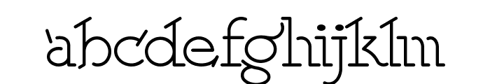 Speedball No 2 NF Font LOWERCASE