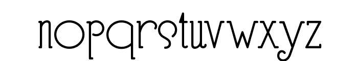 Speedball No 3 NF Font LOWERCASE