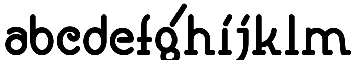 Speedball No1 Bold NF Font LOWERCASE