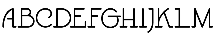 Speedball No1 NF Font UPPERCASE