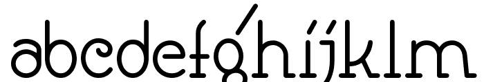Speedball No1 NF Font LOWERCASE