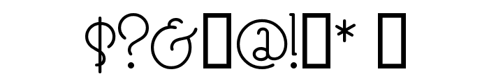 SpeedballNo3 Font OTHER CHARS