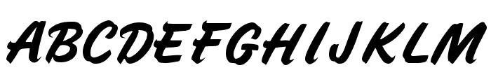 Speedline Font UPPERCASE