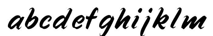 Speedline Font LOWERCASE