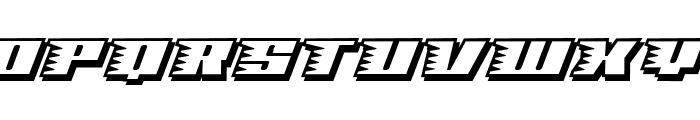 Speedsolid Font UPPERCASE