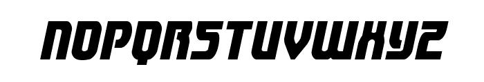 Speedwagon Condensed Italic Font UPPERCASE