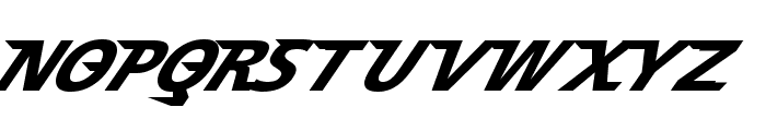 Speedy 12 Font UPPERCASE