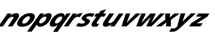 Speedy 12 Font LOWERCASE