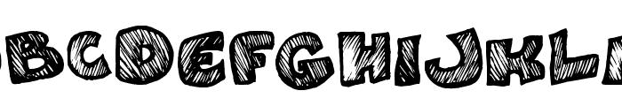 Speedy Font UPPERCASE