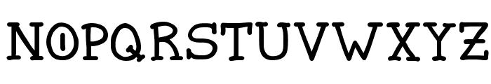 Spellstone Font UPPERCASE