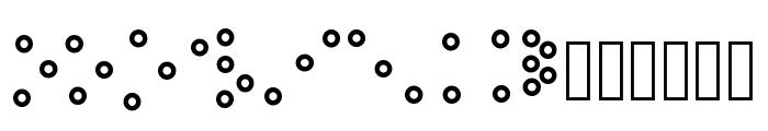 Spelvin Font LOWERCASE