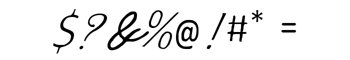 Spencerian Lady's Hand SW Font OTHER CHARS