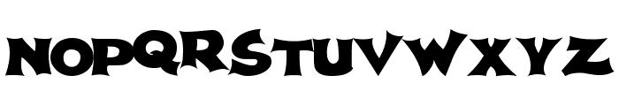 Spherism Font UPPERCASE