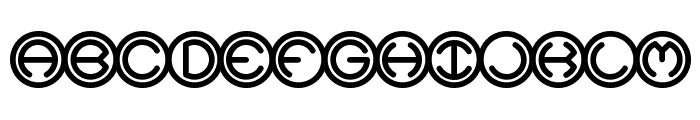 Spheroids BRK Font LOWERCASE