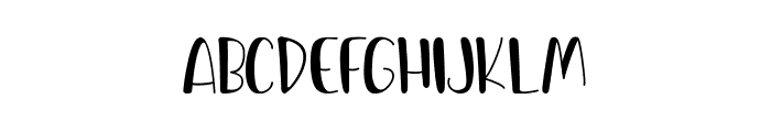 Spicy Hamburger Font UPPERCASE
