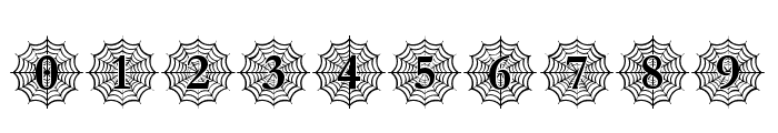 Spider_Web_Mono Font OTHER CHARS